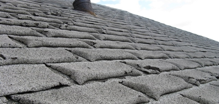 shingles atop an unventilated attic